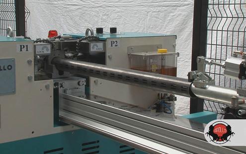 MÁQUINA PUNZONADORA DE TUBOS CNC - APOLLO - ITALIA - BOSCHERT MÉXICO